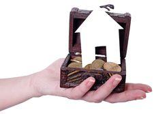 Free Finances On Their Own Home Royalty Free Stock Photo - 28076505