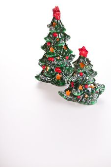 Free Christmas Trees Decorations Royalty Free Stock Images - 28076659