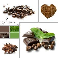 Free Aroma Montage &x28;coffee Shop&x29; Royalty Free Stock Photos - 28078478
