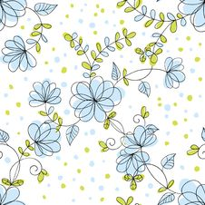 Free Flower Pattern Royalty Free Stock Photos - 28079258