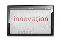 Free Innovation Tablet Isolated On White Stock Photos - 28087493
