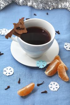 Free Winter Tea Stock Photography - 28082602