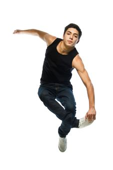 Free Young Man Jump Stock Photography - 28083272