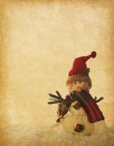 Free Snowmen Stock Images - 28087264
