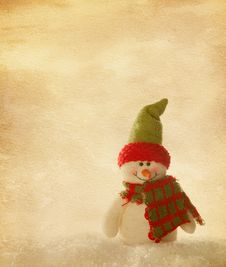 Free Happy Snowmen Royalty Free Stock Images - 28087419