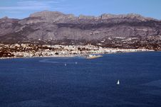 Free Altea Bay Royalty Free Stock Photos - 28090028