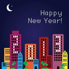 Free 2013 Happy New Year, Vector Royalty Free Stock Photos - 28090998
