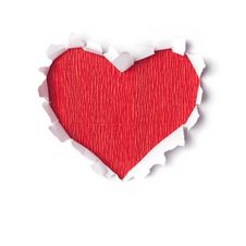 Free Stylized Valentine Paper Heart Stock Photo - 28091030