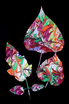 Free Leaf Design Stock Photos - 28091163