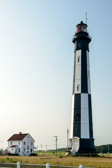 Free Cape Henry Lighthouse Royalty Free Stock Images - 28091589