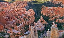 Free Inspiration Point At Sunrise, Bryce Canyon Stock Image - 28092081