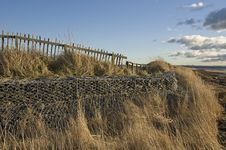 Free Low-stacked Gabions Stock Photography - 28093572