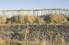 Free Low-stacked Gabions Stock Photo - 28093770