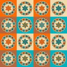 Free Textlile Design Pattern Royalty Free Stock Photos - 28094018