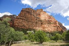 Free Zion National Park -Utah Royalty Free Stock Images - 28094629