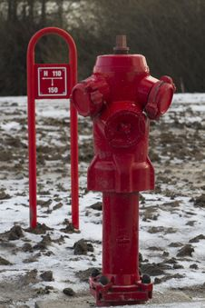 Fire Fighting Hydrant Royalty Free Stock Photos