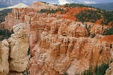 Free Great Spires Carved, Bryce Canyon Royalty Free Stock Photography - 28095377