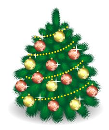 Free Vector Fir-tree Stock Photography - 28096632