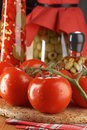 Free Still Life With Tomatoes Royalty Free Stock Photography - 2810317