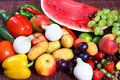 Free Vegetables And Fruits Stock Photography - 2812412