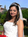 Free Outside Portrait Of The Bride Royalty Free Stock Photography - 2812877
