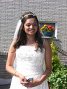 Free Outside Portrait Of The Bride Stock Image - 2812881