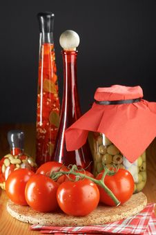 Free Still Life With Tomatoes Stock Image - 2810721