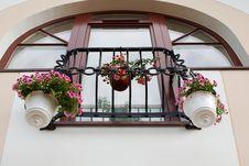 Free French Balcony Royalty Free Stock Photos - 2810768