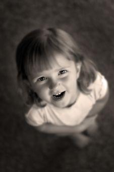 Free Little Girl Portrait Stock Photo - 2811240