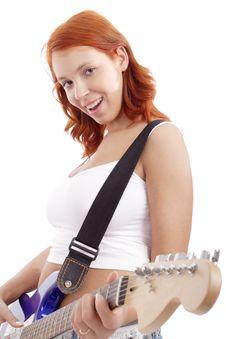 Free Lady Rock Stock Photos - 2811243