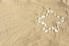 Free A Star Made Of Sea-shells Stock Image - 2811871