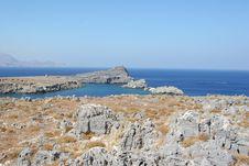 Free Mediterranean Coastline Royalty Free Stock Photos - 2812248