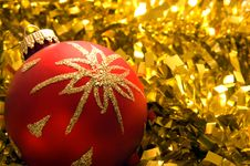 Christmas Decorations 4 Royalty Free Stock Photo