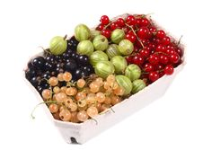 Free Basket With Fresh Fruits Stock Photography - 2812672