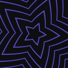 Free Blue Star Royalty Free Stock Image - 2812896