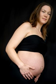 Free Beautiful Pregnant Woman Royalty Free Stock Photography - 2813237