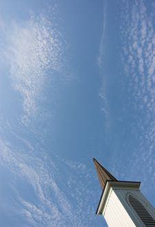 Free Steeple And Sky Stock Images - 2813424