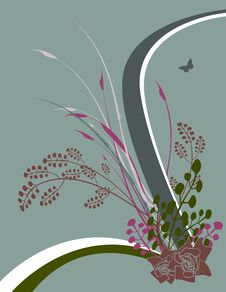 Free Floral Background No.1.2 Royalty Free Stock Image - 2813466