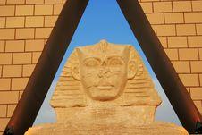 Free Pyramid - Egyptian Sphinx Stock Photos - 2813883