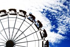 Free Wheel And Blue Sky Stock Photo - 2814060