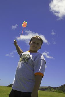 Free Fly A Kite Stock Photos - 2814173