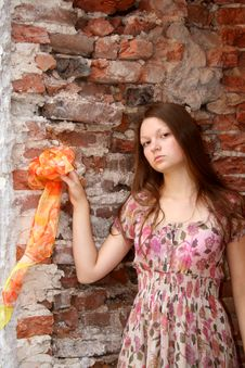 Free Young Girl End Antigue Stock Photography - 2815532