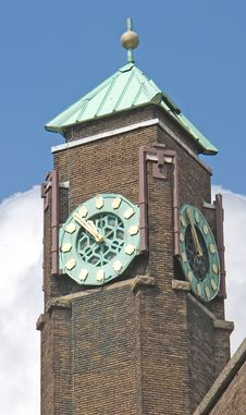 Free Old Clock Turret 8 Stock Photo - 2815870