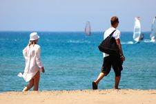 Free Couple Beach Stock Images - 2816954