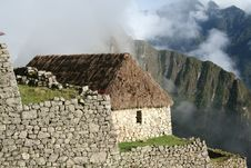 Free Machu Picchu - Restored Home Stock Photos - 2817323
