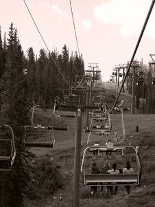 Free Keystone Colorado, Ski Lift Royalty Free Stock Photos - 2818178
