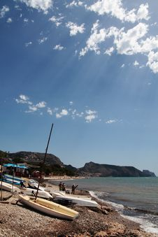 Summer In Costa Blanca Royalty Free Stock Photo