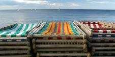 Free Beach Deckchairs Stock Image - 2819151