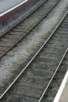 Free Railway Tracks 2 Stock Photography - 2819192