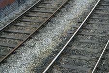 Free Railway Tracks Royalty Free Stock Photo - 2819195